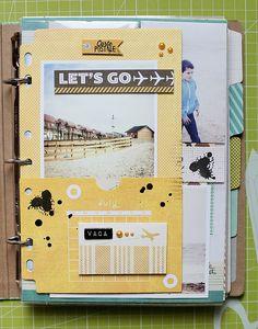★Scraptherapie★: {La Dolce Vita→Best of Summer 2O13 (BasicGrey Capture Album)}