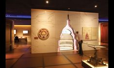 The new underground expansion at the United States Capitol Visitors Center provides orientation, interpretive experiences, and amenities to nearly 4 million visitors each year. A major feature is the 16,5000-sq.-ft. exhibit designed by Ralph Appelbaum Associates, including a cutaway of the Capitol Dome. #SEGD