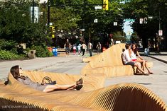 Vancouver's Urban Reef Pedestrian Space Encourages Active Lifestyle #placemaking trendhunter.com