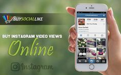 Buy Online and Enjoy Effective Benefits. Instagram Video Views, Instagram Users, Enjoy It, Benefit, Marketing, Stuff To Buy