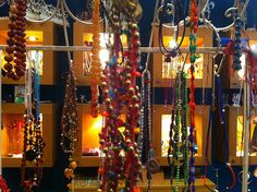 Yiousouri Thessaloniki, Fabric Jewelry, Jewelry Shop, Greece, Chandelier, Ceiling Lights, Diy, Home Decor, Greece Country
