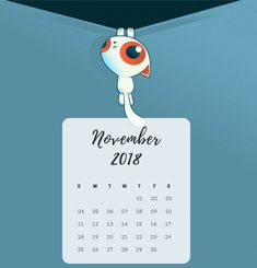 November 2018 Calendar for iPad and iPhone Public Holidays, Calendar 2018, Cool Backgrounds, Cute Cartoon, November, Ipad, Iphone, Dope Wallpapers, Funny Cartoons