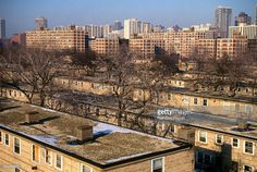 Cabrini-Green is a 70-acre low income housing project in Chicago.