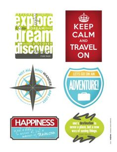 Scrapbook Your Memories with these Free Travel Downloads | July/August 2013 | Creating Keepsakes....