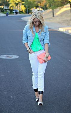 Love this blogger's style!