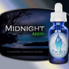 Midnight Apple HALO E Liquid 30 ml
