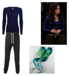 """Jade West- Nickelodeon's Victorious- Locked Up!"" by brainyxbat ❤ liked on Polyvore featuring Acne Studios and Armani Jeans"