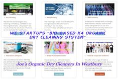 SYSTEMK4 is an environmentally friendly and absolutely safe cleaning process - Joe's Organic Cleaners
