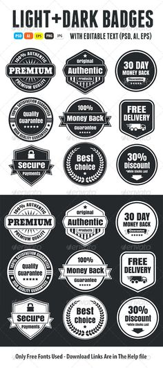 Light And Dark Vintage Ecommerce Badges | Buy and Download: http://graphicriver.net/item/light-and-dark-vintage-ecommerce-badges/6752441?WT.ac=category_thumb&WT.z_author=Romet6&ref=ksioks