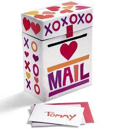 Valentine's Day Card Mailbox Craft