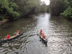 Cranford (Union County) - A Fourth of July tradition in Cranford is canoe races on the Rahway River.