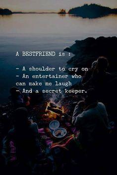 A best friend is........mine is KAJ