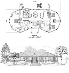 Online House Plan: 1525 sq. ft., 3 Bedrooms, 2 1/2 Baths, Classic Collection (CM-0205) by Topsider Homes.