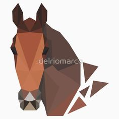 "NEW ITEM! ""LOW POLY Horse Face"" More objects with this picture on http://www.redbubble.com/people/delriomarco or simply type my name on the site's search bar :) #art #illustration #delrio #drawing #hipster #cool #new #instagood #instacool #like4like #instalike #igers #lowpoly #lowpolyart #illustrator #deadatseventeen #logo #simple #design #picoftheday #sketch #vector #minimal #artwork #horse #pet #turin #torino"