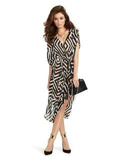 Tanzi kaftan dress. Love the pattern. Guess marciano.
