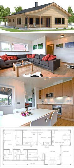House Plan 2018, Single story home plan