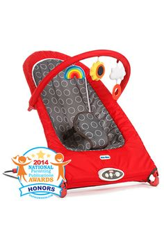 We are blushing, our all new @littletikes Sit  Play Bouncer was given the honor seal by NAPPA in their 2014 competition.  thanks!  @National Parenting Publications Awards   #LittleTikesByDiono #SafetyInStyle #babygear