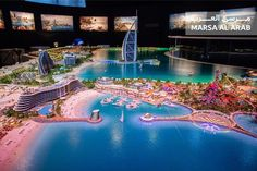 AMWTOUR TRAVEL BLOG: Dubai Bangun Dua Pulau Buatan untuk Tingkatkan Kun...