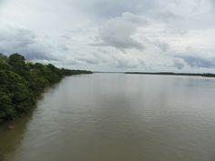 trecho do rio Branco, Boa Vista, RR