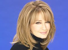 Deidre Hall joined Daytime in 1973 when she joined The Young and the Restless as. Deidre Hall kam 1973 zu Daytime, als sie als Barbara zu The Young and the Restless kam . Medium Hair Cuts, Medium Hair Styles, Front Hair Styles, Hair Front, Hair Color And Cut, Lace Hair, Layered Hair, Great Hair, Hair Today