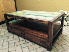#CoffeeTable, #Painted, #RecycledPallet