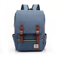 Vintage Canvas Travel Backpack Leisure Backpack&Schoolbag