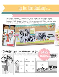 ISSUU - CREATE: Issue 6, June 2014 by Scrapbook Generation