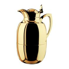 Special Offers - Alfi Juwel Gold Plated Brass Thermal Carafe 33-Ounce - In stock & Free Shipping. You can save more money! Check It (April 09 2016 at 07:01AM) >> http://standmixerusa.net/alfi-juwel-gold-plated-brass-thermal-carafe-33-ounce/