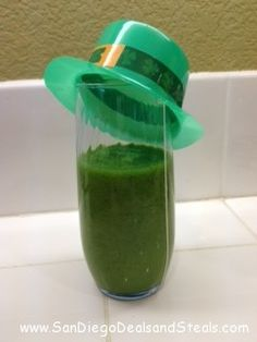 Great St. Patrick's Day Green Smoothie