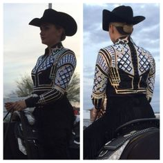 Horsemanship Shirt--Lindsey James Show Clothing