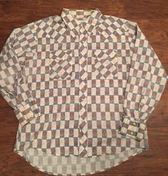 Vintage Men's Shirt Rockabilly 1970's Snap Buttons Sir Guy Made In USA Sz XL  | eBay
