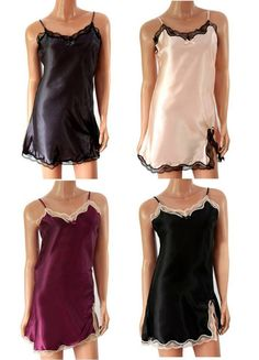 Now available on super-cool-gifts! New: UK Ladies se... Always free UK P&P  http://supercoolgifts.myshopify.com/products/new-uk-ladies-sexy-satin-nightdress-chemise-lingerie-8-10-12-14-16-uk-seller?utm_campaign=social_autopilot&utm_source=pin&utm_medium=pin #savemoney #bargainshopper #onabudget