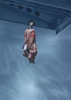 Langusta Lips: Jan Kriwol defies gravity in underwater campaign for Diligent   #art #artdirection #diligent #fashion #fashionphoto #gravity #jankriwol #langustalips #photo #photography #poland #underwater #warsaw #water