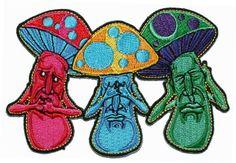 Mushroom No Evil See Hear Speak Iron On Hippie Patch Cool-Patches,http://www.amazon.com/dp/B004D08J8S/ref=cm_sw_r_pi_dp_YKFutb068GK58DF1