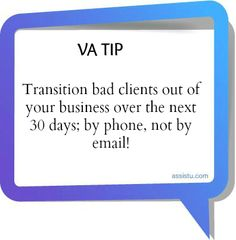 For more #VATips, visit us on Facebook at www.fb.com/AssistU or online at www.virtualmoxie.com.    #VATip #virtualassistant www.assistu.com
