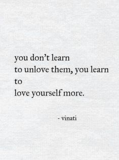 This!! It's not in a conceded way but as a whole, in a way you've never loved or cared about yourself kind of way. And going back to them could bring you and your wholeness down. However, you are finally are at a place of peace and love with yourself to allow that to happen. This is when you know walking away is what's best for your wellbeing.