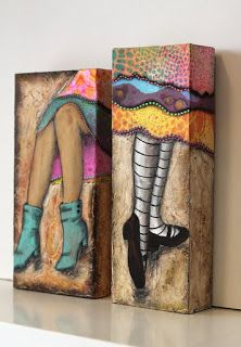 Easy Canvas Painting, Painting & Drawing, Canvas Art, Collage Sculpture, Collage Art, Leg Art, Funny Paintings, Art Of Love, Pintura Country