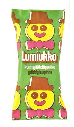 Lumiukko -jäätelöpuikko 70-luvulta My Childhood Memories, Sweet Memories, Good Old Times, Old Ads, Children, Kids, Retro Vintage, Old Things, Finland