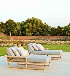 #Colección #LINEAL Tumbona modular Modular sunbed