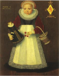 Isaac Claesz. van Swanenburg, Portrait of Catharina van Warmondt, 1596 - Museum Meermanno-Westreenianum The Hague