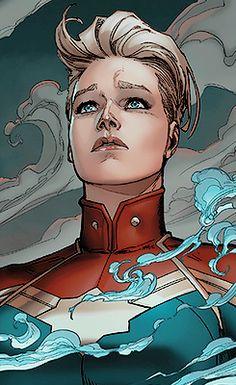 Captain Marvel by David Marquez Ms Marvel, Marvel Comics, Marvel Women, Marvel Girls, Comics Girls, Marvel Heroes, Marvel Avengers, Avengers Women, Batwoman