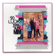 Decorative Tape Family Layout