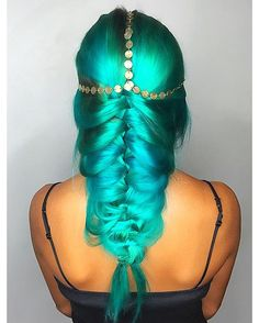 Ocean spray! Next level mermaid hair