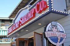 Bubba Gump Shrimp Co. - Hungry? This is an awesome place to eat seafood! http://www.visitmysmokies.com/what-to-do/dining/dining-gatlinburg/