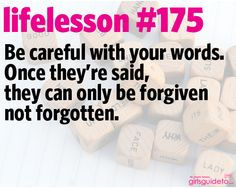 Little Life Lesson Words Done Quotes, Sad Quotes, Happy Quotes, Bible Quotes, Bible Verses, Inspirational Quotes, Facebook Timeline Photos, Kids Learning, Forgiveness