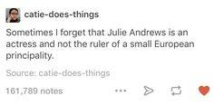 Julie Andrews will always be the Queen of Genovia http://ibeebz.com
