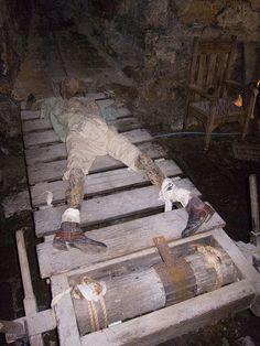 Medieval rack torture