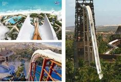 Insano waterslide in brazil. i'm going off this thing before i die. it's a must.