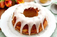 """The root beer intensifies the cocoa in the cake, but also makes the cake moist,"" chef Carla Hall says of her root beer bundt cake. ""It reminds me of a root beer float: cold, fizzy and creamy at the same time. Lucky Food, Carla Hall, Glaze For Cake, New Year's Cake, Bunt Cakes, Cake Servings, Vegetarian Chocolate, Root Beer, Cake Recipes"