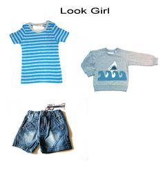 girl look seleccionado por mamasmolonas Look Girl, Rock Style, Crop Tops, Kids, Women, Fashion, Rocker Chick, Prize Draw, Little Girl Clothing